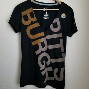 Nike Pittsburgh Steelers V Neck Tee
